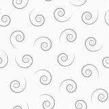 Спиральная белая безшовная текстура Стоковые Фото