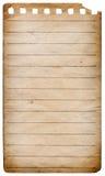 Спиральная бумага блокнота Стоковое Фото