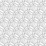 Спиральная картина иллюстрация вектора