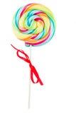 Спиральная конфета шипучки lolly Стоковое Фото