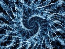 Спиральная энергия Стоковое Изображение RF
