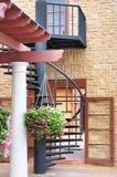 Спиральные лестницы стоковые изображения rf