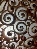 Спиральный конец картины раковины вверх Стоковая Фотография RF