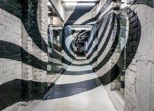 Спиральный коридор Стоковая Фотография