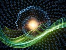 Спиральный профиль Стоковое фото RF