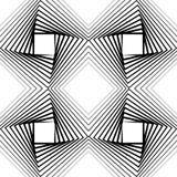 Спиральный элемент с концентрическими кругами Абстрактное декоративное elem Стоковые Изображения RF