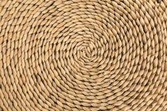 спиральн wicker текстуры Стоковая Фотография RF