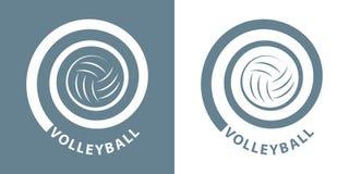 Спираль волейбола стоковое фото