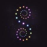 Спираль скручиваемости звезды радуги красочная бесплатная иллюстрация