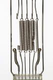Спираль топления - нить электрического света стоковое фото rf