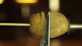 Спираль торнадо переплетенная картошкой видеоматериал
