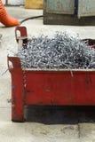 Спираль swarf металла Стоковая Фотография RF