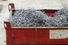Спираль swarf металла Стоковая Фотография