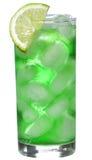 спиртная известка зеленого цвета коктеила Стоковые Изображения RF