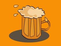 спиртное питье пива Бесплатная Иллюстрация