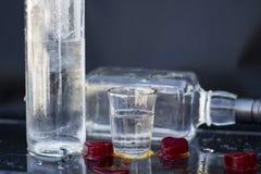спиртное питье Стоковые Фотографии RF