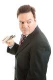спиртной бизнесмен Стоковая Фотография RF