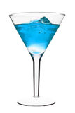 спиртной голубой коктеил Стоковое фото RF