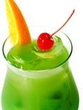 спиртной зеленый цвет коктеила Стоковые Фото