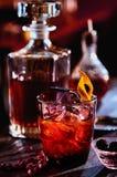 Спиртной коктеиль с ромом Стоковая Фотография RF