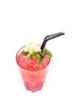 спиртной красный цвет коктеила Стоковое Изображение