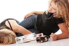 спирт наркомании предназначенный для подростков Стоковое Фото