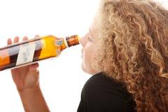 спирт наркомании предназначенный для подростков Стоковое Изображение RF
