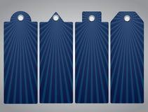 Списки цен на товары, бирка Лучи Солнця 10 eps Стоковое фото RF