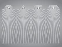 Списки цен на товары, бирка Лучи Солнця 10 eps Стоковые Изображения