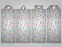 Списки цен на товары бумага самолетов цветастая 10 eps Стоковое Изображение RF