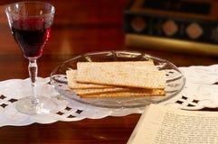 список еврейской пасхи Стоковое Фото