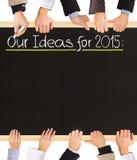 Список идей Стоковое фото RF