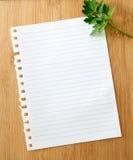 Список покупок Стоковое фото RF
