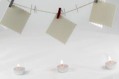 Список целей Санта Клауса Стоковое фото RF