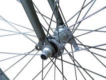 спицы изолированные велосипедом Стоковое Изображение RF