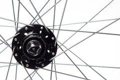 Спицы и эпицентр деятельности велосипеда Стоковое фото RF