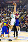 Спичка баскетбола Стоковое Фото