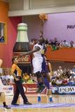Спичка баскетбола Барселона против Joventut Стоковые Фотографии RF