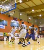 Спичка баскетбола Барселона против Joventut Стоковое фото RF