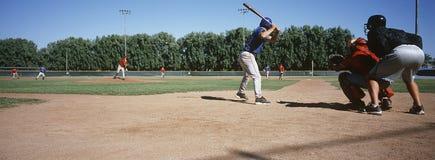 Спичка бейсбола Стоковое Изображение RF