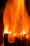 спичка пожара Стоковые Изображения RF
