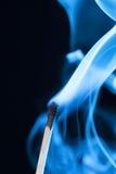 Спичка сини Smokey стоковые изображения