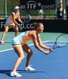Спичка Украина тенниса FedCup против Аргентины Стоковые Изображения