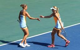 Спичка Украина тенниса FedCup против Аргентины Стоковая Фотография RF
