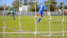 Спичка футбола (футбола) сток-видео