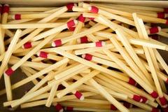 Спички в matchbox Стоковая Фотография RF