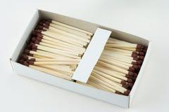 спички коробки раскрывают Стоковая Фотография
