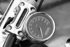Спидометр мотоцикла Стоковые Фото