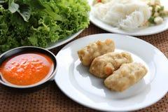 сплавливание Вьетнам еды стоковое фото