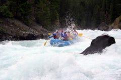 сплавлять реку стоковое фото